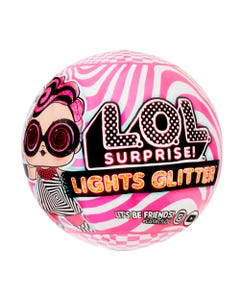 L.O.L. Surprise! Lights Glitter Doll with 8 Surprises Assort