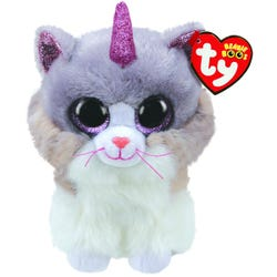 TY Asher cat with horn Beanie Boo