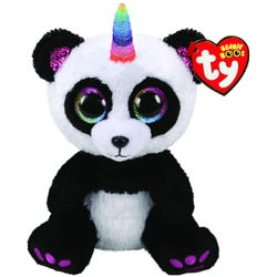TY Paris Panda with Horn Beanie Boo