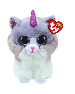 TY Asher Cat with Horn Boo Medium