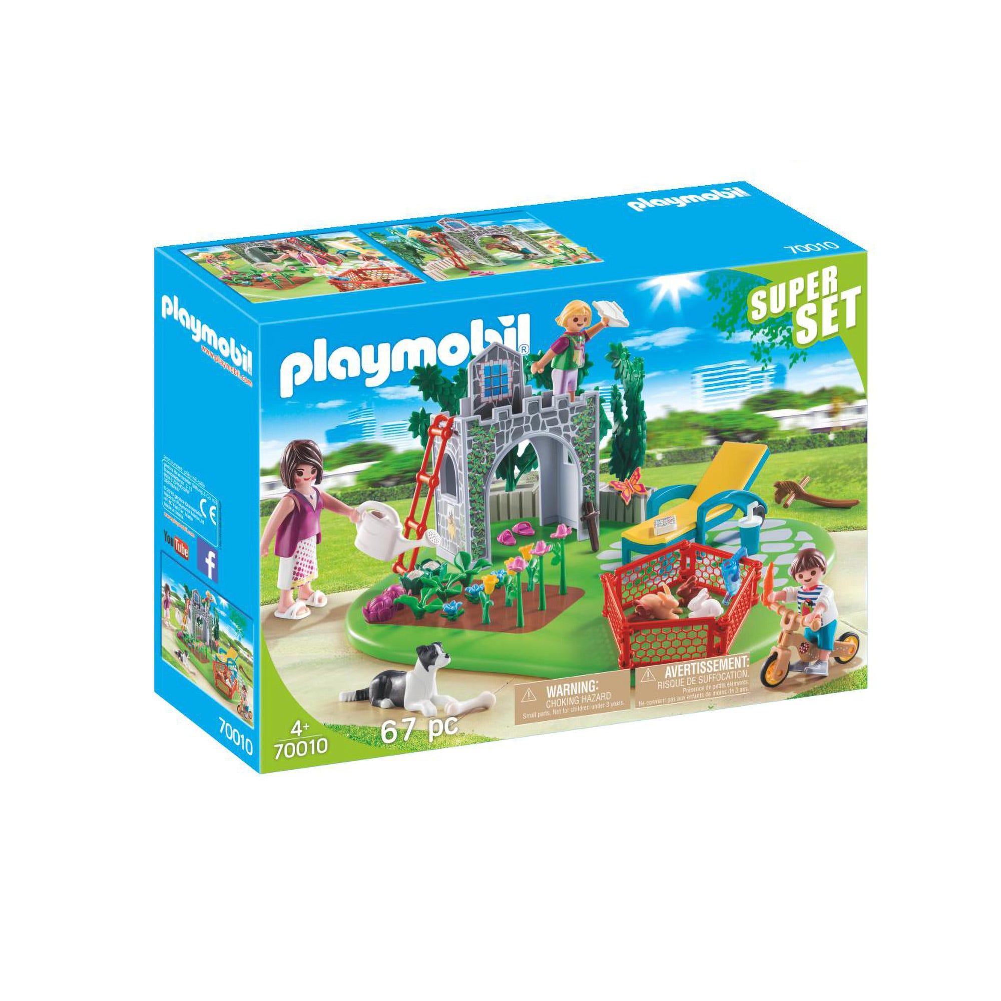 Playmobil 70010 Super Set Family Garden
