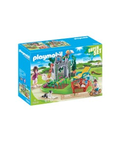 Playmobil 70010 Super Set Family Garden