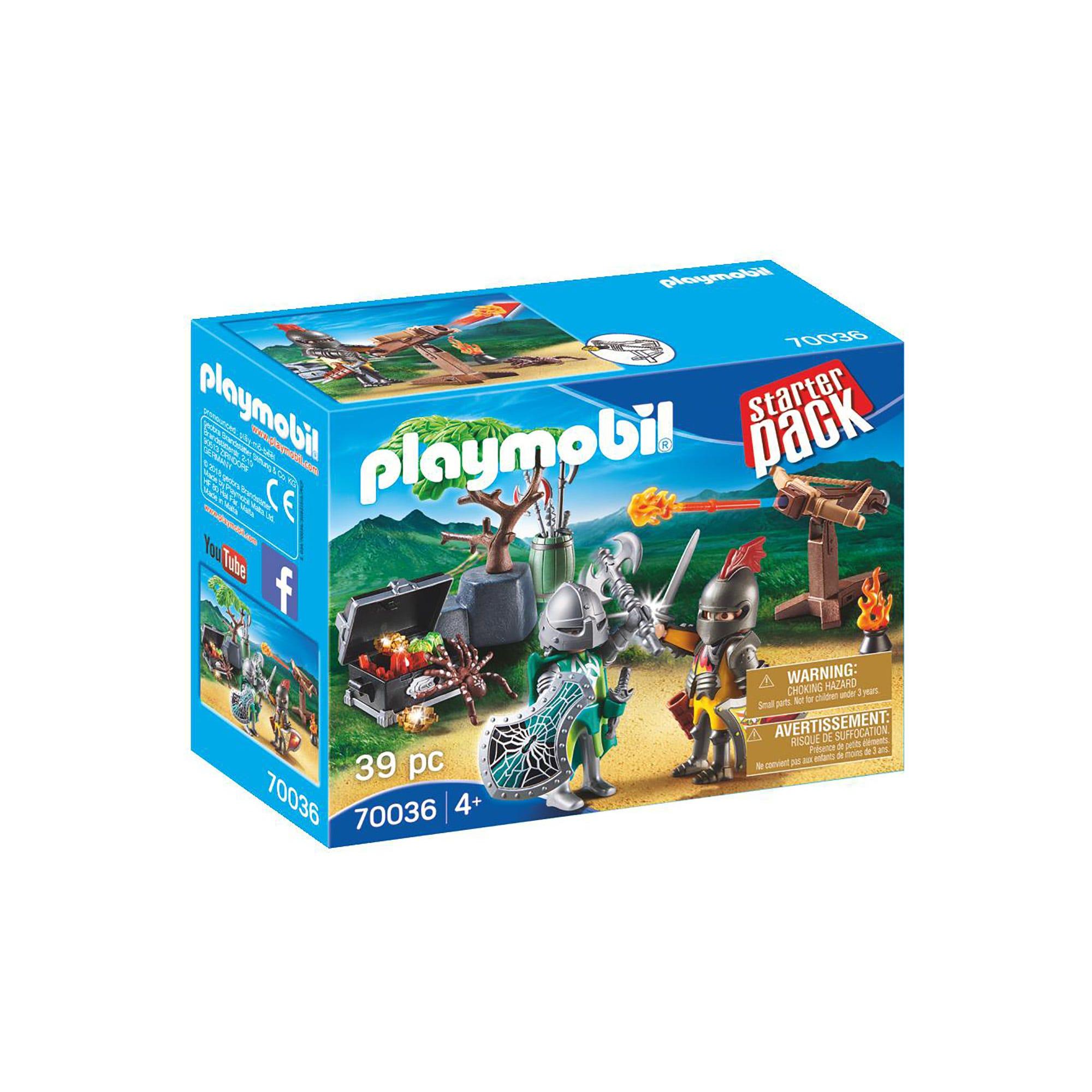 Playmobil 70036 Starter Pack Knights Treasure Battle