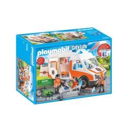 Playmobil 70049 City Life Ambulance with Lights and Sound
