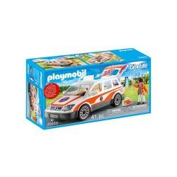 Playmobil 70050 City Life Emergency Car with Siren