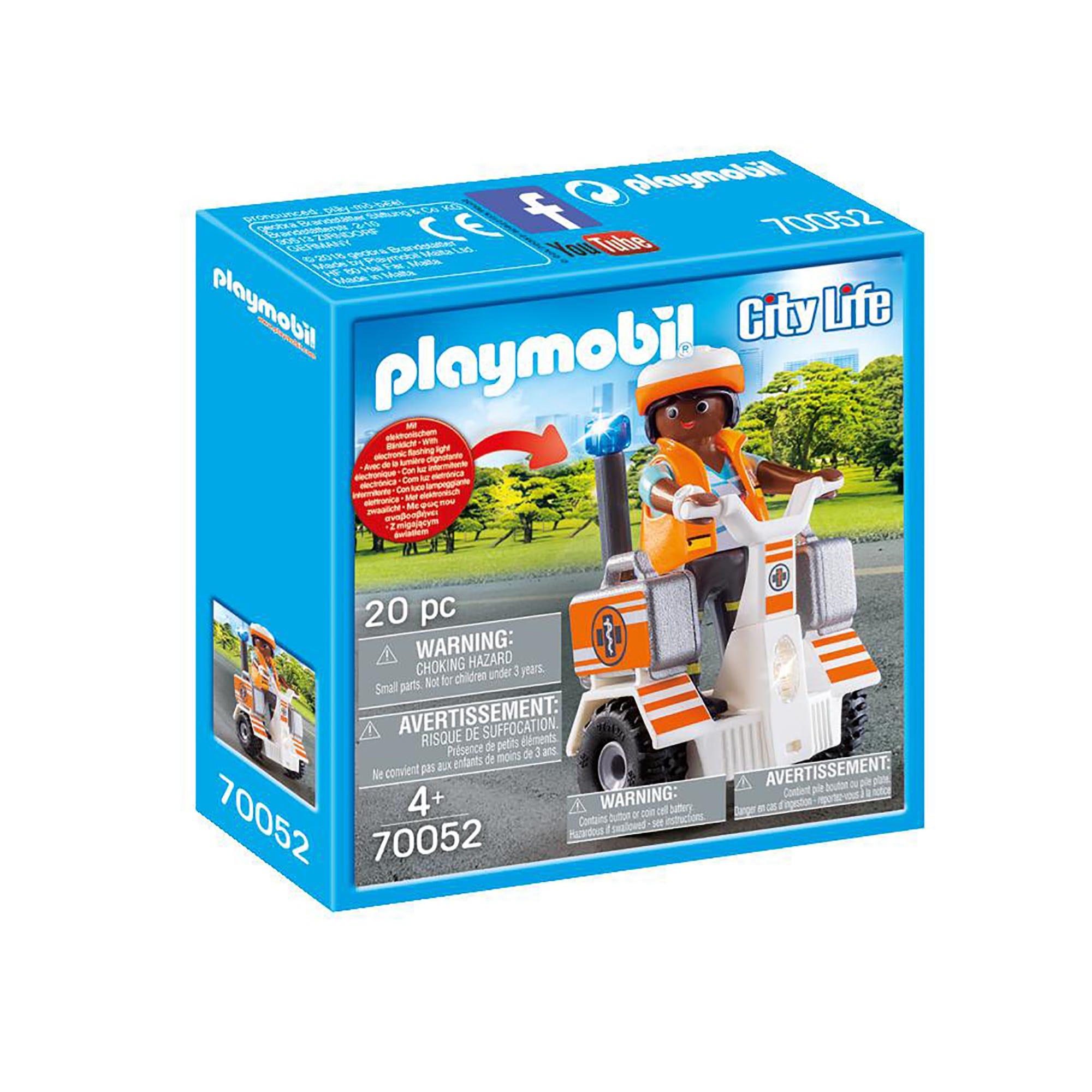Playmobil 70052 City Life Rescue Balance Racer