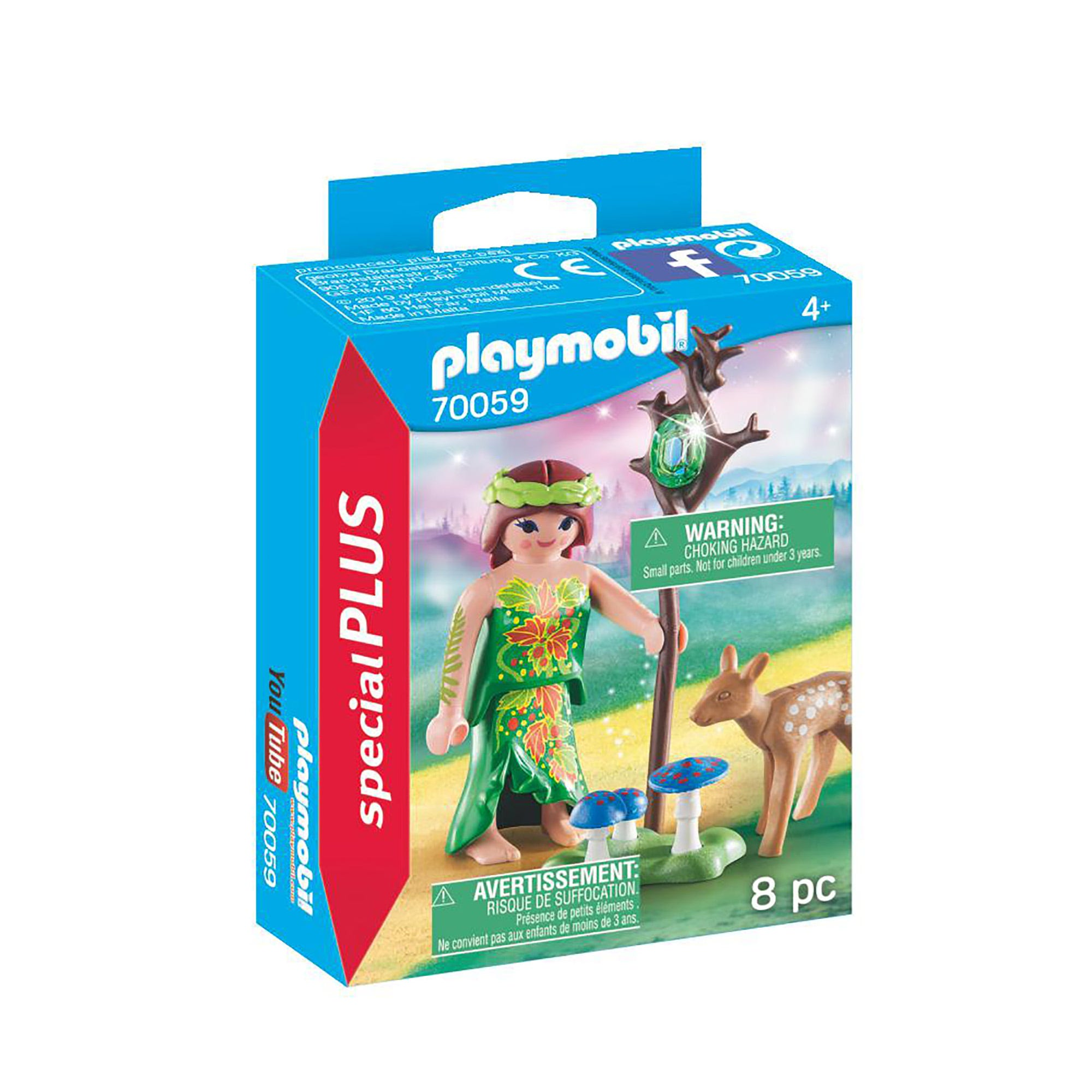 Playmobil 70059 Special Plus Fairy With Deer