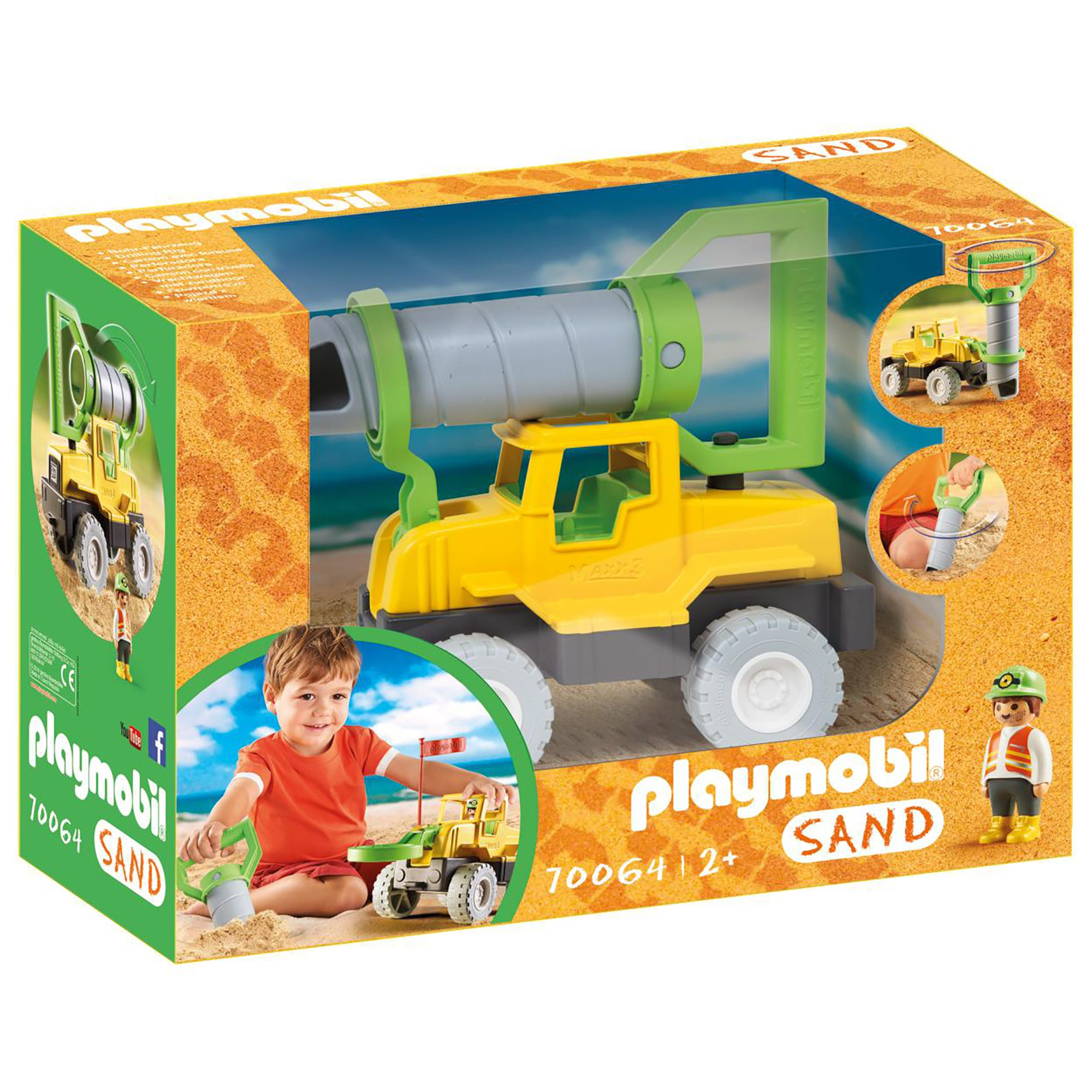 Playmobil 70064 SAND Drilling Rig