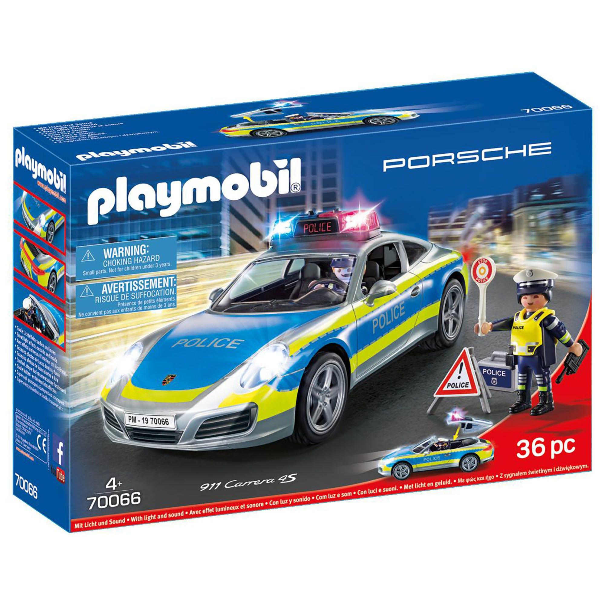 Playmobil 70066 Porsche 911 Carrera 4S Police