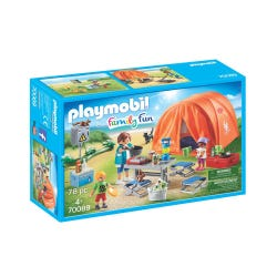 Playmobil 70089 Family Fun Camping Trip with Large Tent