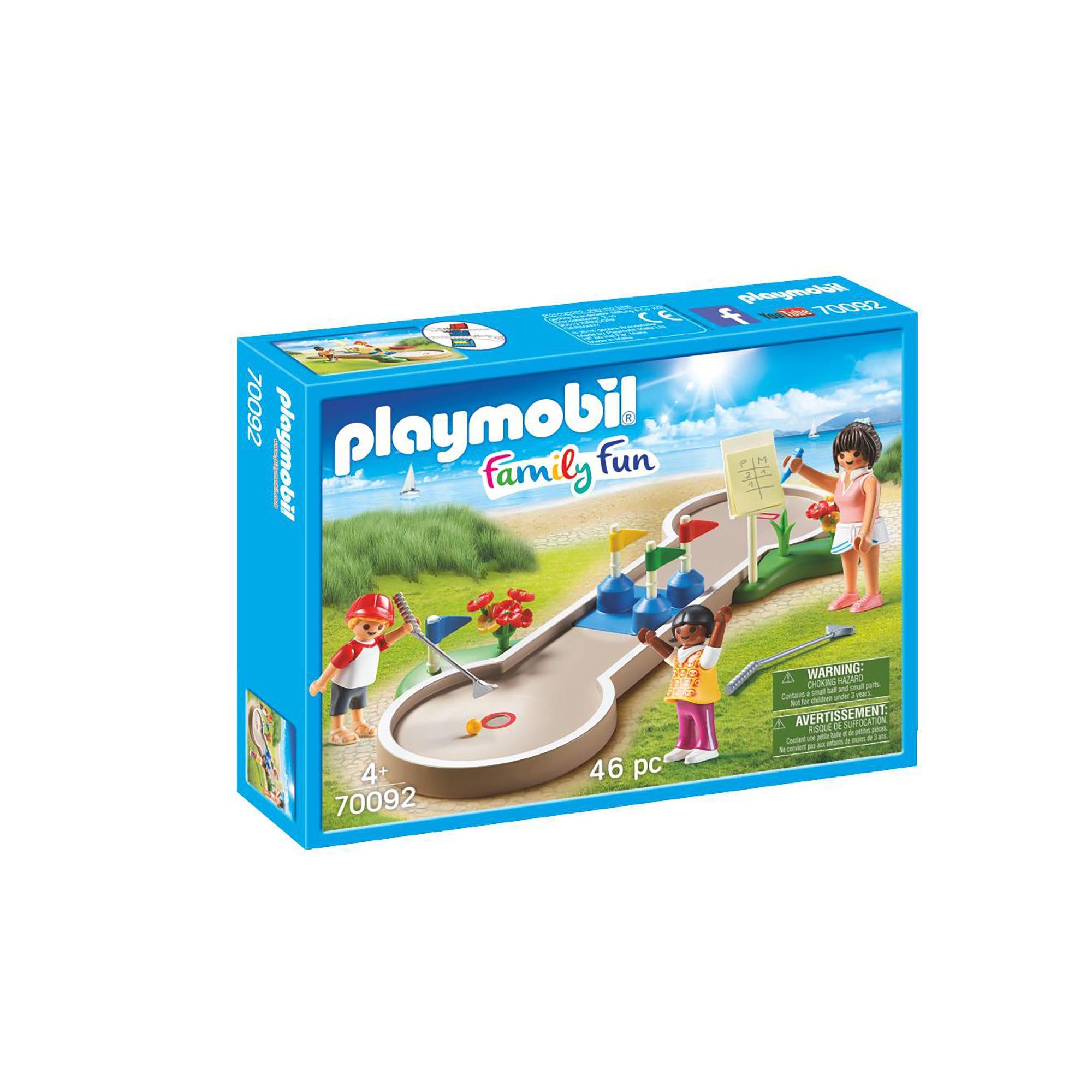 Playmobil 70092 Family Fun Mini Golf