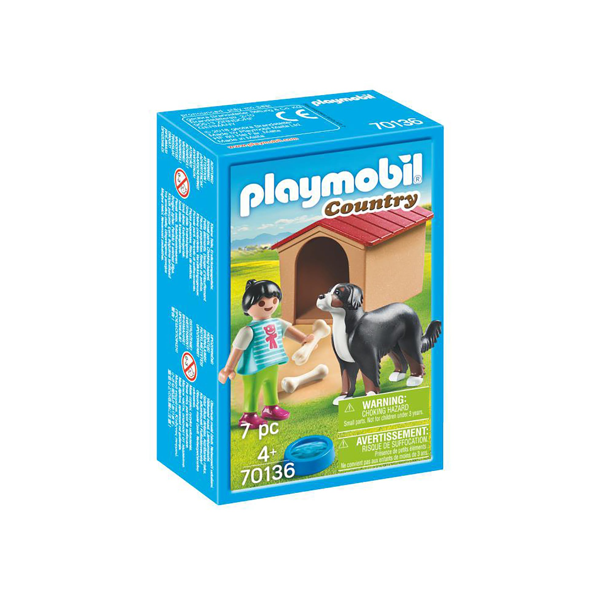 Playmobil 70136 Country Dog With Doghouse