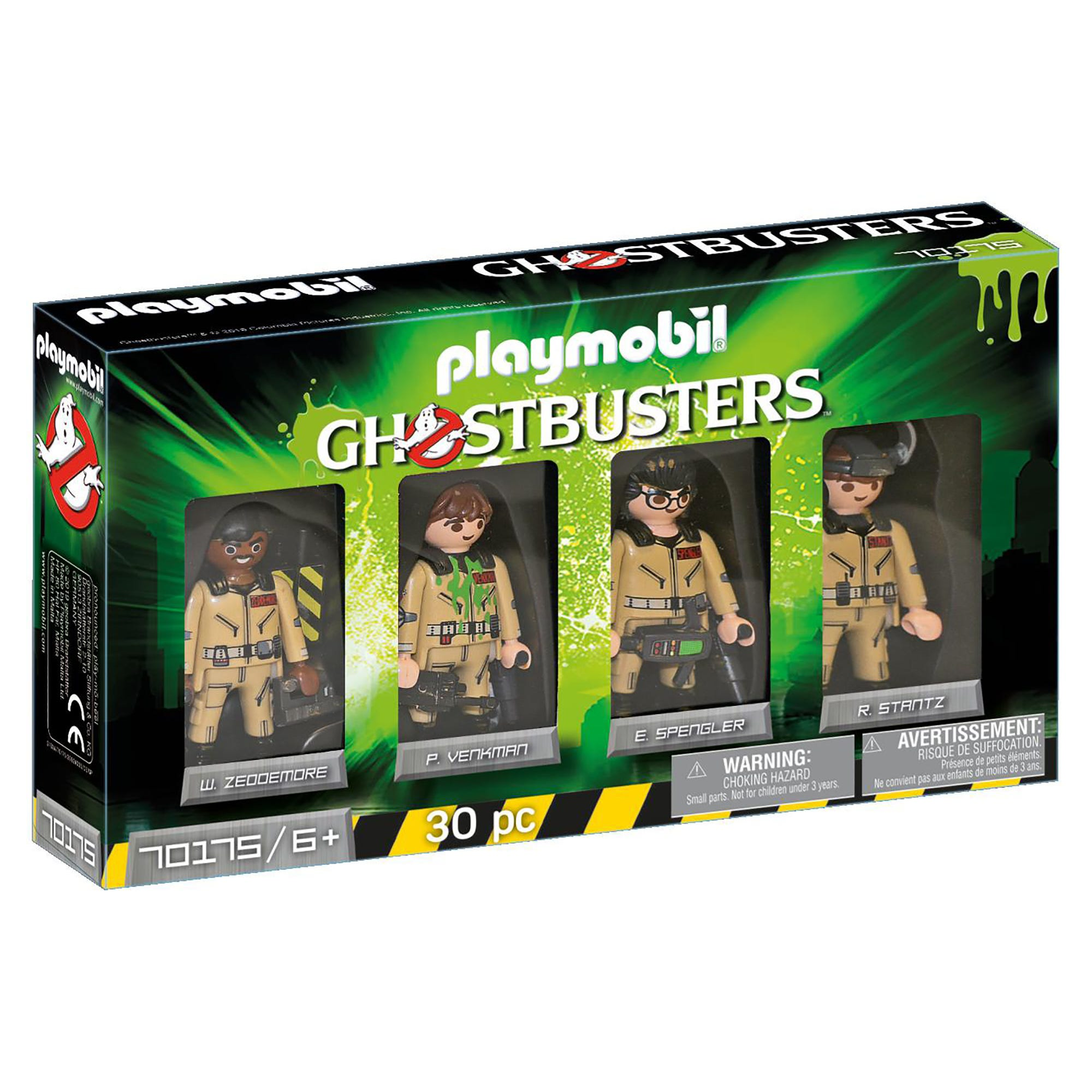 Playmobil 70175 Ghostbusters Collectors Set Ghostbusters