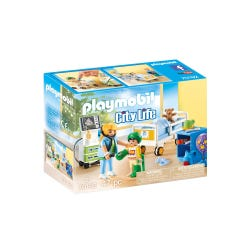 Playmobil 70192 City Life Childrens Hospital Room