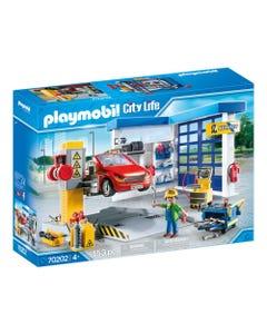Playmobil 70202 City Life Car Repair Garage