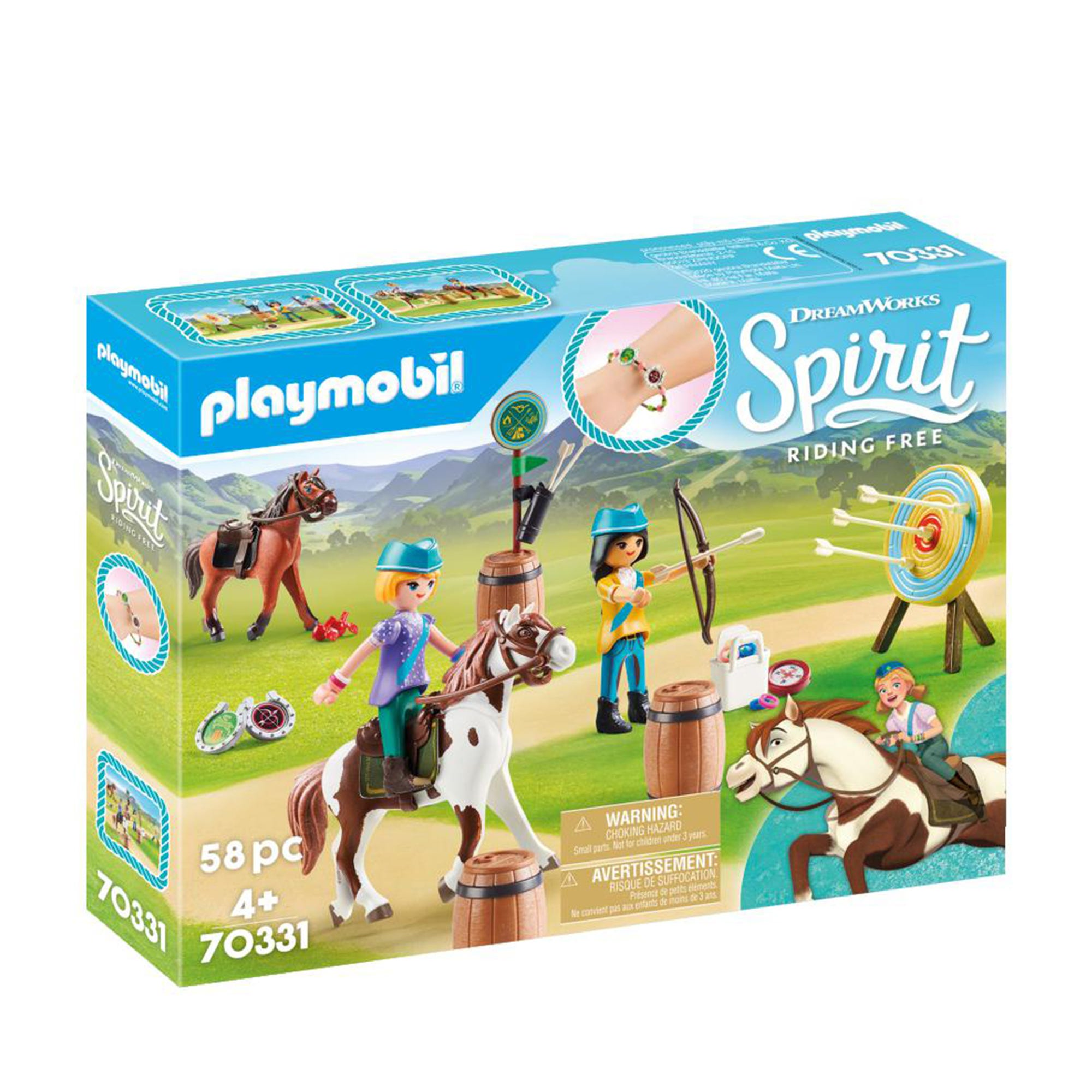 Playmobil DreamWorks Spirit 70331 Outdoor Adventure