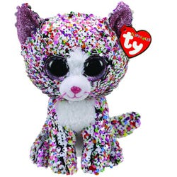 TY Confetti Cat Flippable Medium