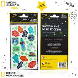 National Geographic Glow In The Dark Stickers