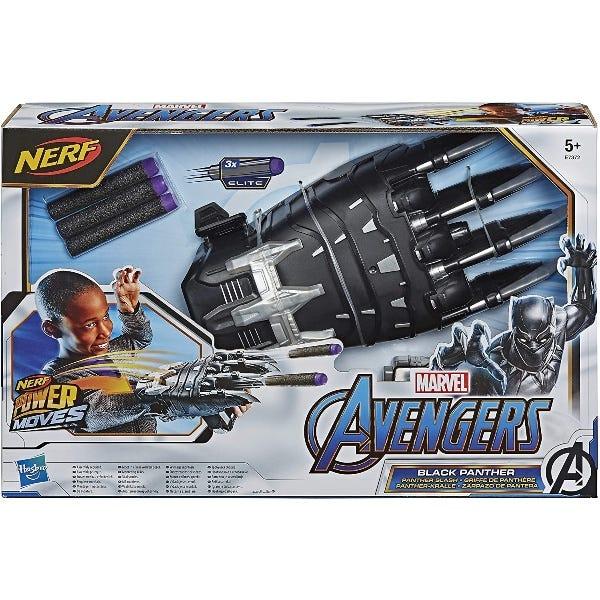 NERF Power Moves Marvel Avengers Black Panther Power Slash Claw
