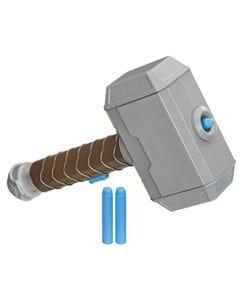 NERF Power Moves Marvel Avengers Thor Hammer Strike Hammer