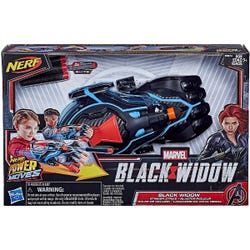NERF Power Moves Marvel Black Widow Stinger Strike NERF Dart-Launching Roleplay Toy