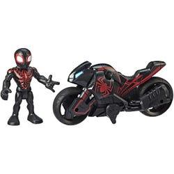 Playskool Heroes Marvel Super Hero Adventures Figure and Motorcycle Asst