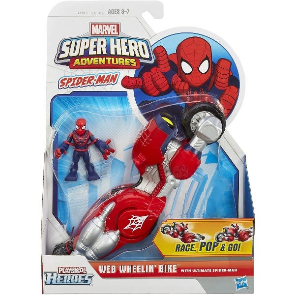 Playskool Heroes Marvel Super Hero Adventures Figure and Vehicle Assortment