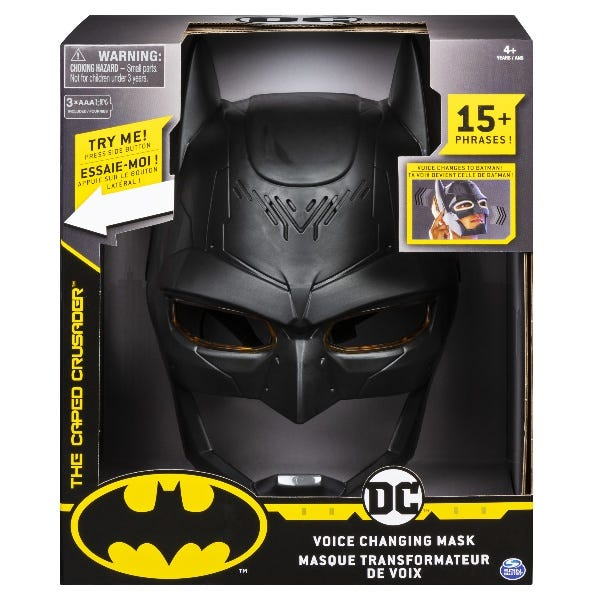 Batman: Voice Changing Mask With Over 15 Sounds