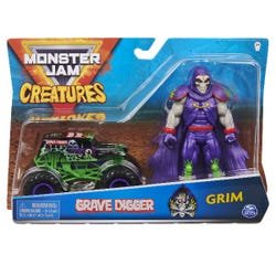 Monster Jam: Official Grave Digger 1:64 Scale Monster Truck
