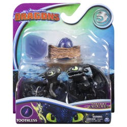 DreamWorks Dragons Legends Evolved: 3-Inch Mini Figures, Assorted