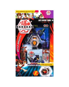 Bakugan: Deluxe Battle Brawlers Card Collection with Jumbo F
