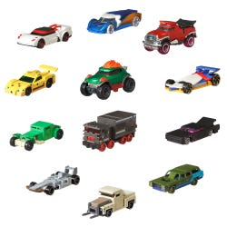 Hot Wheels Gaming Character Cars 1:64 Scale Diecast Assortme