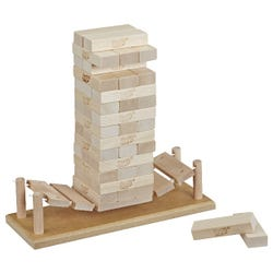 Jenga Bridge Wooden Block Stacking