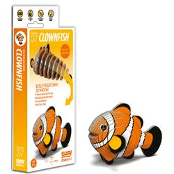 EUGY Clownfish 3D Craft Kit