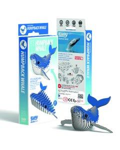 EUGY Humpback Whale 3D Craft Kit