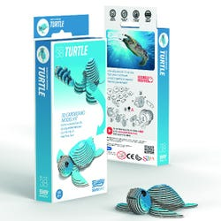 EUGY Turtle 3D Craft Kit