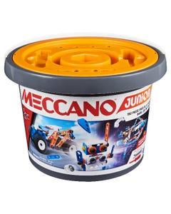 Meccano Junior, 150-Piece Bucket - STEAM Model Building Kit