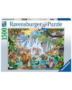 Ravensburger Waterfall Safari 1500pc Jigsaw Puzzle