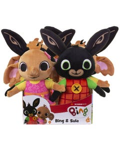Bing and Sula Soft Toys assorted in 6pc