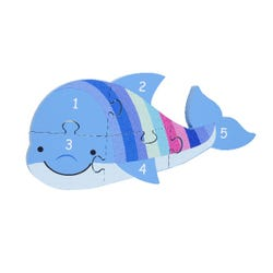 Dolphin Number Puzzle (1-5)