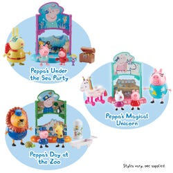Peppa Pig Theme Playsets Assortment