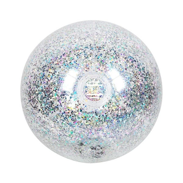Inflatable Beach Ball Glitter