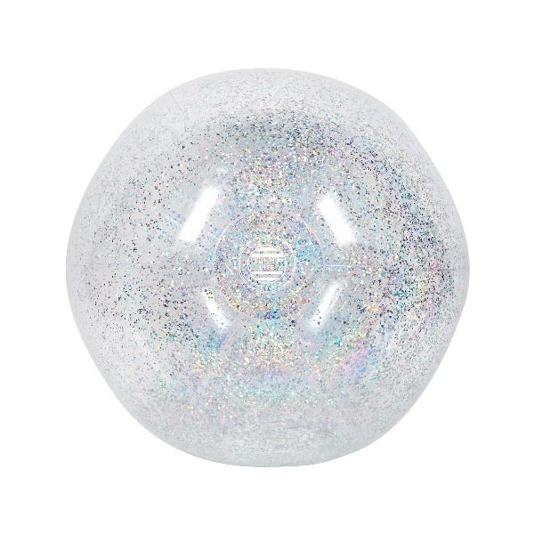 XL Inflatable Beach Ball Glitter