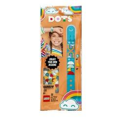 DOTS Rainbow Bracelet DIY Craft Set by LEGO 41900