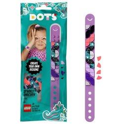 DOTS Sparkly Unicorn Bracelet DIY Craft Set by LEGO 41902