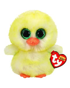 TY Lemon Drop Chick Beanie Boo - Easter