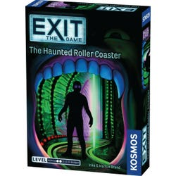 ESCAPE ROOM Exit The Haunted Roller Coaster