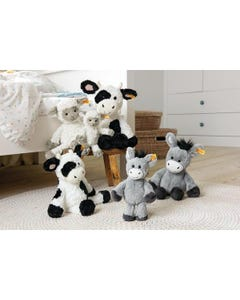 Steiff Soft Cuddly Friends Dinkie Donkey (Grey Blue)