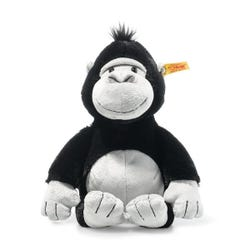 Steiff Soft Cuddly Friends Bongy Gorilla (Black/Light Grey)