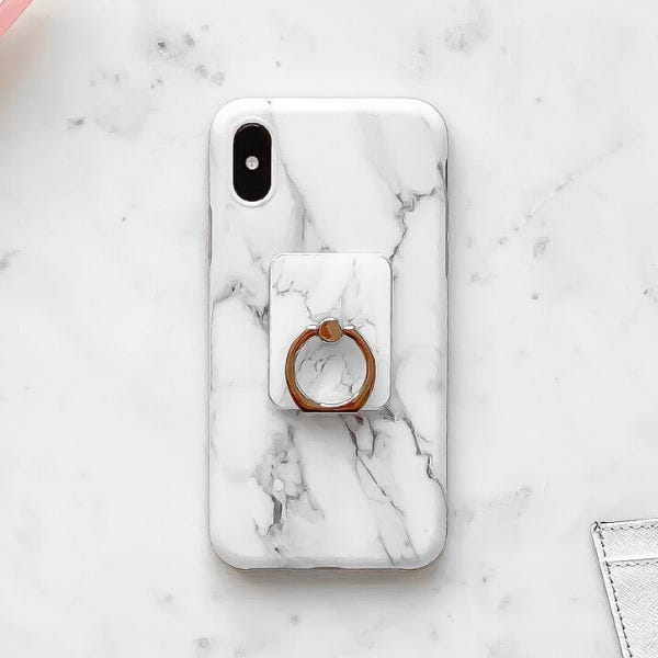 Image of Coconut Lane Marble Phone Ring